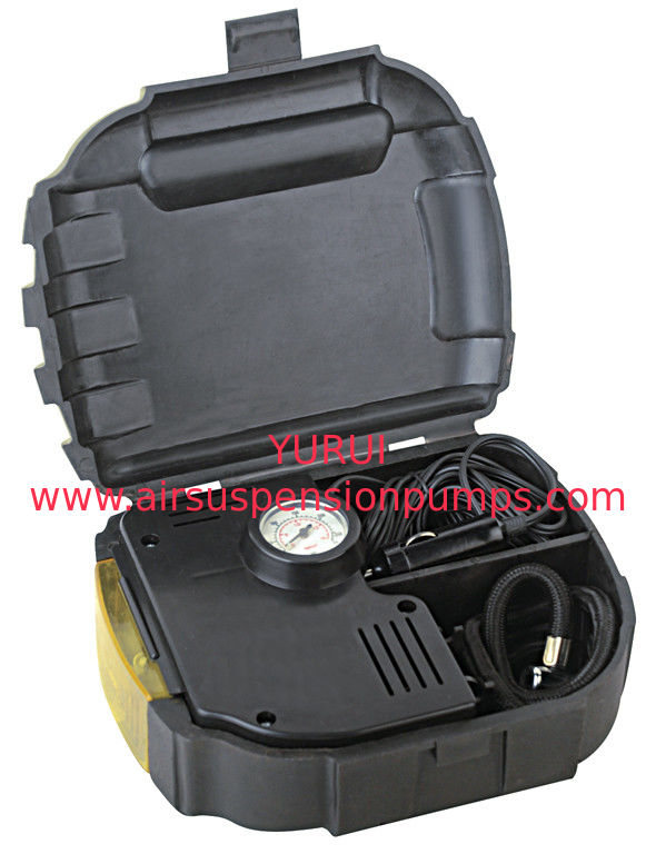 3 In 1 Air Compressor Black Plastic Kit Portable Fast Inflation For Cars And Bicycles And Ballls