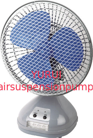 Metal Rechargeable Portable Fan With LED Light  , Portable Cooling Fan