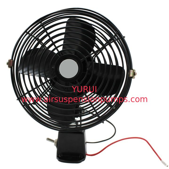 12v / 24v Small Car Cooling Fan Metal Material For Car Cigarette Lighter
