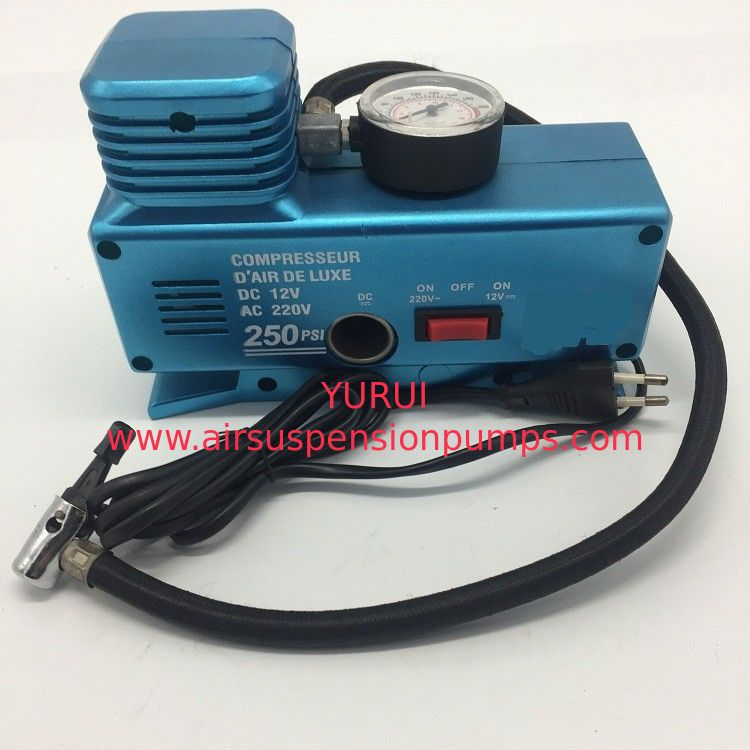 Ac110v - 230v Dc12v Vehicle Air Compressors 250psi With Plastic Material