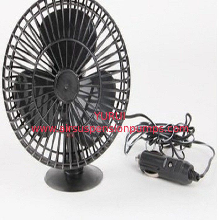 4 Inch Two Switch Automotive Electric Cooling Fans Dc12v Plastic Material In Black